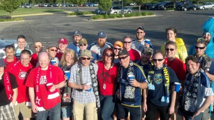 2012 Open Cup game brought Minnesota's Dark Clouds to Des Moines